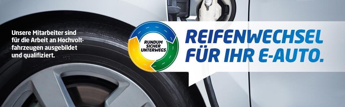 Reifenwechsel E-Auto